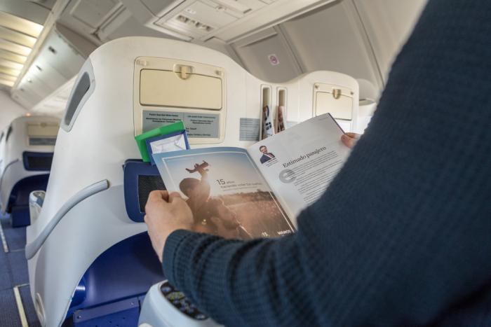 El entretenimiento digital a bordo de Wamos Air